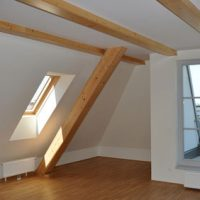 Fenster im Dachgeschoss