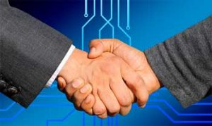 Smart-Contract Symbolfoto