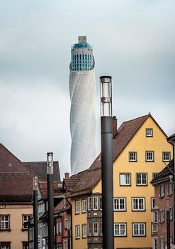 Thyssenkrupp-Testturm in Rottweil